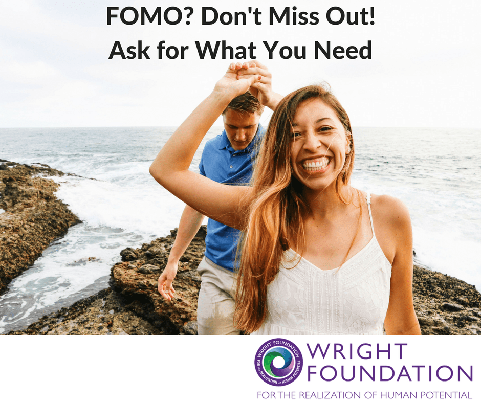 Have you experienced FOMO? When we worry that we're missing out, it often points to our deeper longings that aren't being met. It's not just about missing out on good times with others or missing the party. Learn to ask for what you need and end your feelings of FOMO for good.