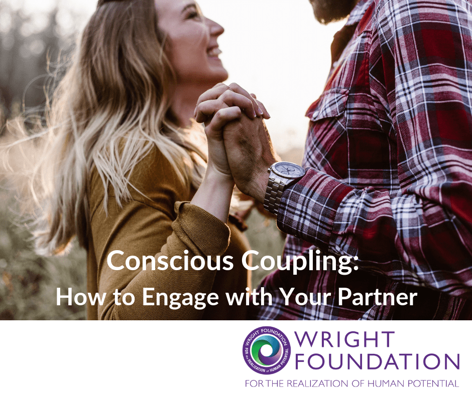 We've heard of conscious uncoupling, but what about conscious coupling? How do you become more mindful of the connection you're building with your partner?